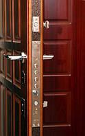 Усиленные металлические двери с сейфовой системой замков Днепропетровск