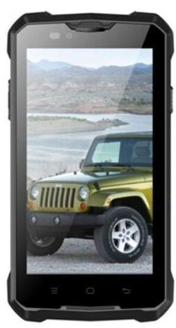 Смартфон с большой батареей Jeep Z5 Black