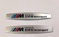 Эмблемы на крылья BMW M-power, фото 1