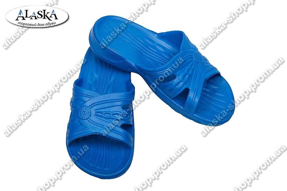Шлепки женские синие (Код: ПЖ-03)