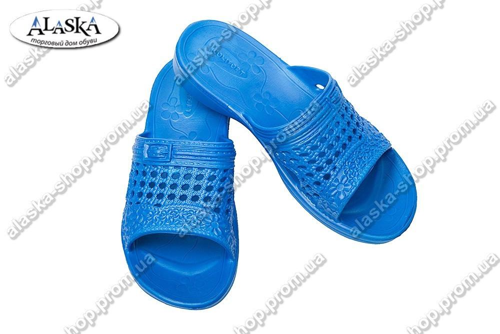 Женские сланцы синие (Код: ПЖ-04)