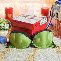 "Бюстгальтер push-up ""Jenya BRP 1100"" ""LAURA BARESSE"" LB-BRP1100green"