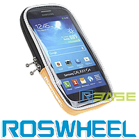 Чехол для смартфона на руль велосипеда Roswheel M Оранжевый