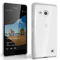 Чехол силиконовый Ультратонкий Epik для Nokia Microsoft Lumia 550 Прозрачный