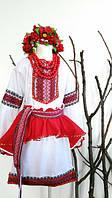 Карнавальный костюм Украиночки платье+юбка