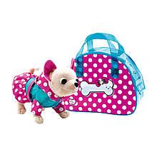 "Мягкая игрушка «Chi Chi Love» (5890345) собачка Чихуахуа ""Весёлый дождик (Rainy Fan)"", 20 см"
