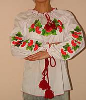 Оригинальная женская вышитая блуза Калина