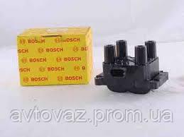 Катушка зажигания, модуль зажигания, ВАЗ 2123 Нива Шевроле 1.6L 8 клапан., ВОSСH