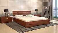 Ліжко Далі Люкс 160 бук з газовим підйомним механізмом
