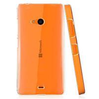 Чехол силиконовый Ультратонкий Epik для Nokia Microsoft Lumia 540 Прозрачный