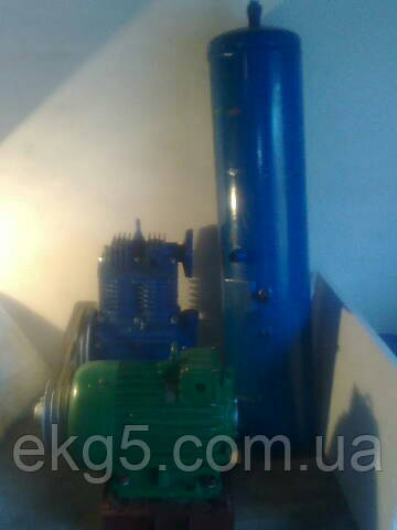 Агрегат компрессорный ВВ 0,8/8-720 с ресивером - ТЕХНО-МАШ - запчасти к экскаваторам ЭКГ-5, электродвигатели, компрессоры в Кропивницком