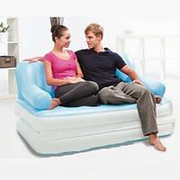Надувной диван - трансформер BestWay 5 в 1 с насосом