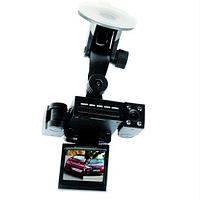 Видео регистратор автомобильный DVR H3000 2 камеры, фото 1