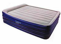 Надувная кровать со встроенным насосом BESTWAY