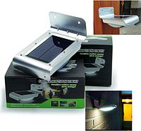 Светильник на солнечной батарее 16 LED с датчиком движения, фото 1