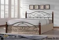Кровать двухспальная Onder Mebli Dana N 140х200 Малайзия