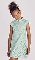 Детское платье свободного кроя из гипюра