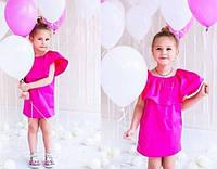 Детское платье-воланы