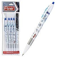 Ручка шариковая Flair Passion синяя, чёрная, красная