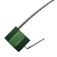 Пломба силовая (ЗПУ) Трос-5/500 с закруткой, мин.заказ - 10 шт.