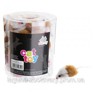Мышка 4см - игрушка для котят, кошек и  котов