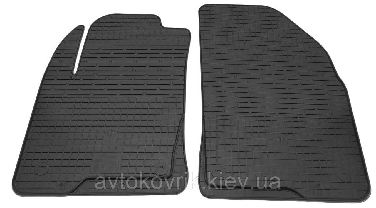 Резиновые передние коврики в салон Ford Fusion 2002-2012 (STINGRAY)