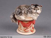 Статуэтка Кошка 12 см 59-353
