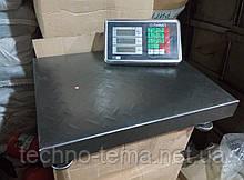 Весы торговые электроные на 300 кг рифленые
