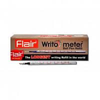 Стержень Flair Writo meter 10 км. синий, чёрный 10шт. картонная упаковка