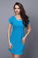 Женское коктейльное летнее платье, 42-44,44-46,46-48,48-50