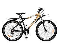 Cпортивный велосипед 26д PROFI XM263D Черно-золотой