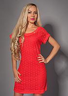 Женское легкое коктейльное летнее платье, 42-44,44-46,46-48,48-50
