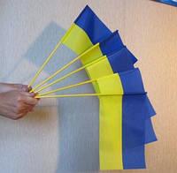 Сувенирный флаг Украины на флагштоке 30*20 см