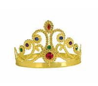 Корона королевы. Детская пластиковая корона
