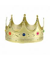 Корона короля. Детская пластиковая корона