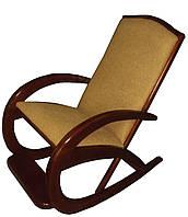 Кресло качалка из массива дерева