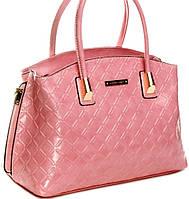 Розовая женская сумка  Velina Fabbiano