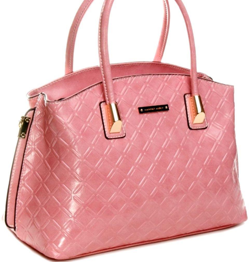 2442e0f0d7fb Розовая женская сумка Velina Fabbiano - Интернет-магазин стильных сумок