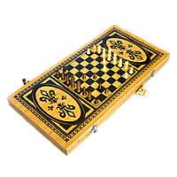 Игровой набор 3 в 1 Шахматы,Шашки,Нарды