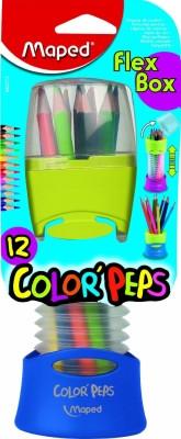 Maped Набор цветных карандашей Color'Peps Flex Box в раздвижном пенале