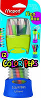 Maped Набор цветных карандашей Color'Peps Flex Box в раздвижном пенале, фото 1