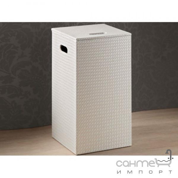 Аксессуары для ванной комнаты Gedy Корзина для белья Gedy Marrakech 6738-42 цвет белый