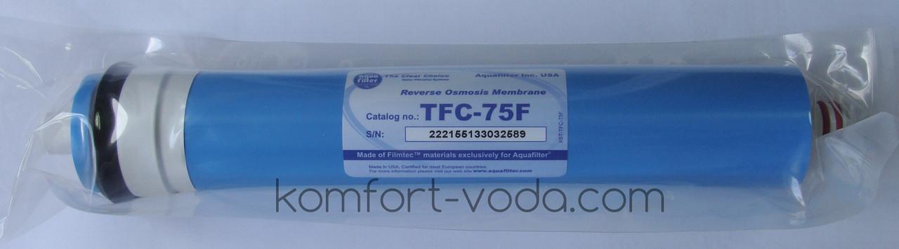 Мембрана обратного осмоса Aquafilter TFC-75F