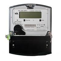 Счётчик 2303 L АК1 1020 МЕ, 5(10)А 3ф 3х220⁄380В, кл.точн.1 электр. однотариф