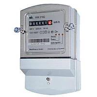 Счётчик 2102-02 М1В, 5(60)А, 1ф, электромеханический однотарифный
