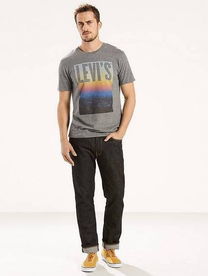 Мужская футболка Levis Graphic Tee - Pewter (M)