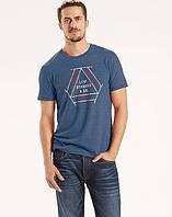 Мужская футболка Levis Graphic Tee - Dress Blues