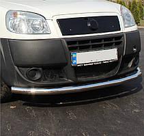 Кенгурятник одинарный ус на Fiat Doblo (c 2001--) Фиат Добло PRS