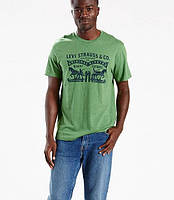 Мужская футболка Levis 2 Horse Tee - Green Heather