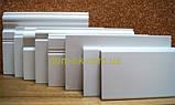 МДФ плинтус Белый Супер Профиль СП 1699 высота 100 мм + есть все цвета, фото 3